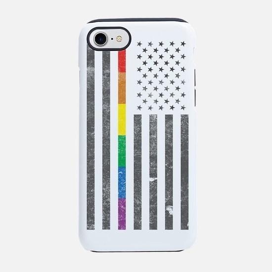 American Pride Flag iPhone 7 Tough Case