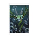 Wishing Frog 35x21 Wall Decal