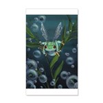 Wishing Frog 20x12 Wall Decal