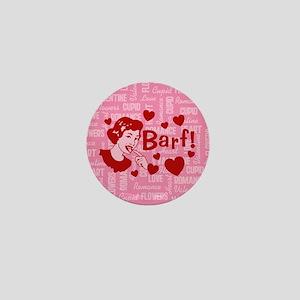 Hearts And Romance Barf Mini Button
