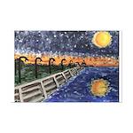 Starry Night Lake Pontchartrain Print