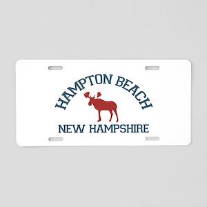 Hampton Beach NH - Moose Design. Aluminum License