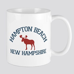 Hampton Beach NH - Moose Design. Mug