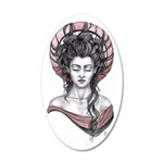 Lady Madonna 20x12 Oval Wall Decal
