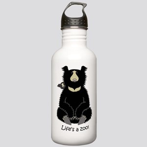 Sloth Bear with Cub Stainless Water Bottle 1.0L