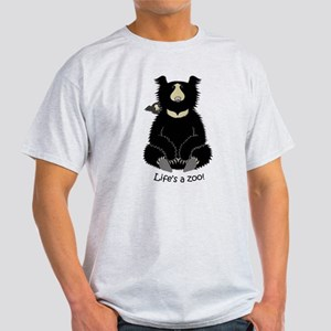 Sloth Bear with Cub Light T-Shirt
