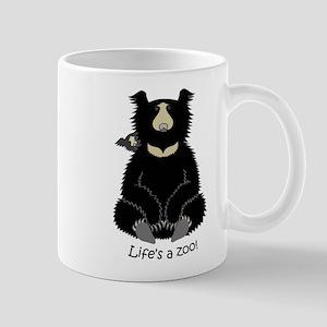 Sloth Bear with Cub Mug