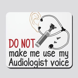 Audiologist Voice Mousepad