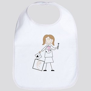 Female Audiologist Bib