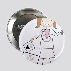 "Female Audiologist 2.25"" Button"