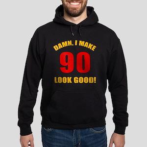 90 Looks Good! Hoodie (dark)