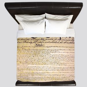 We The People King Duvet