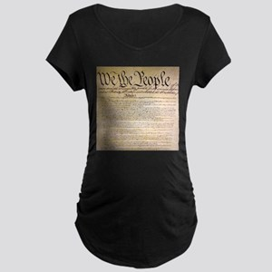 We The People Maternity Dark T-Shirt
