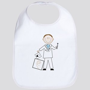 Male Audiologist Bib