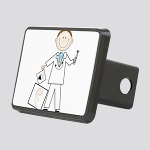 Male Audiologist Rectangular Hitch Cover