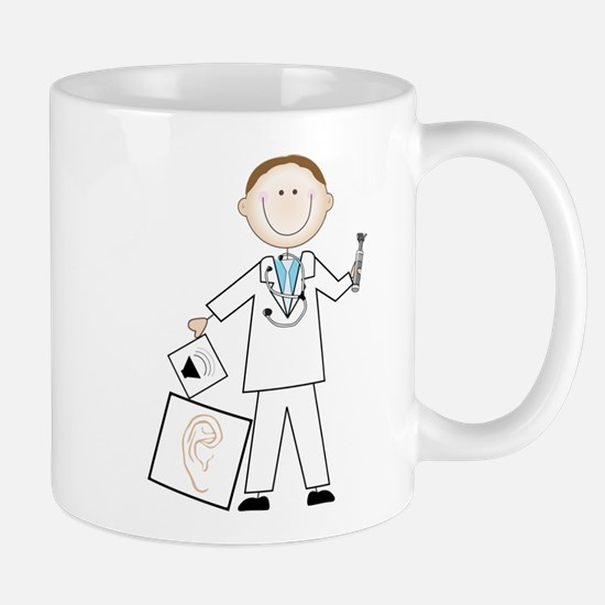 Male Audiologist Mug