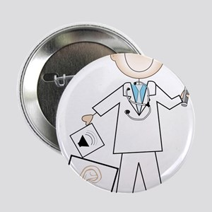 "Male Audiologist 2.25"" Button"