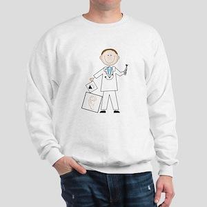 Male Audiologist Sweatshirt