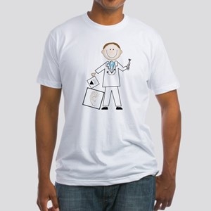 Male Audiologist Fitted T-Shirt