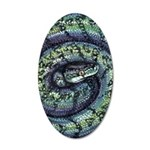 Snake 35x21 Oval Wall Decal