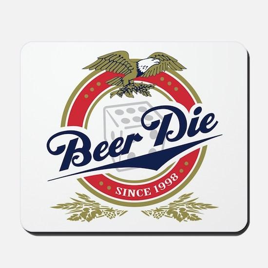 Beer Die Mousepad