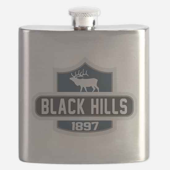 Black Hills Nature Badge Flask