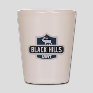 Black Hills Nature Badge Shot Glass