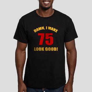 75 Looks Good! Men's Fitted T-Shirt (dark)