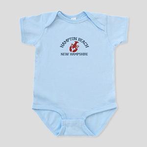 Hampton Beach NH - Lobster Design. Infant Bodysuit