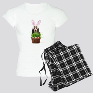 Easter Basset Hound Women's Light Pajamas