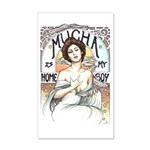 Mucha is my Homeboy 20x12 Wall Decal
