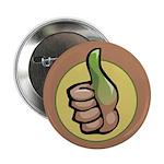"Green Thumb Club 2.25"" Button (100 pack)"