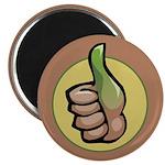 "Green Thumb Club 2.25"" Magnet (100 pack)"