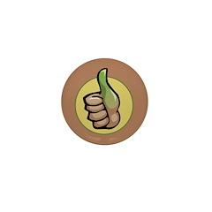 Green Thumb Club Mini Button (100 pack)