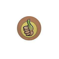 Green Thumb Club Mini Button