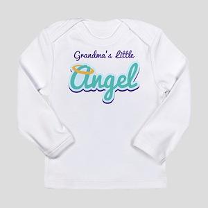 Grandma's Little Angel Long Sleeve Infant T-Shirt