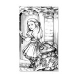 Alice the Footman 35x21 Wall Decal