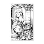 Alice the Footman 20x12 Wall Decal