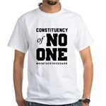 Constituency of No One | light White T-Shirt