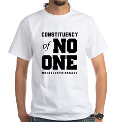 Constituency of No One   light White T-Shirt