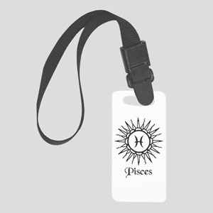 Astrology :: Pisces Small Luggage Tag