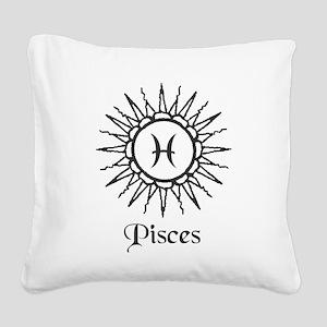 Astrology :: Pisces Square Canvas Pillow
