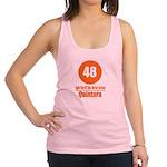 48 Quintara Orange Racerback Tank Top