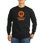 48 Quintara Orange Long Sleeve Dark T-Shirt