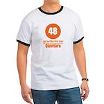 48 Quintara Orange Ringer T
