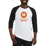 48 Quintara Orange Baseball Jersey
