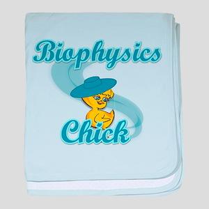 Biophysics Chick #3 baby blanket