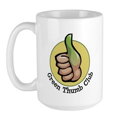 Green Thumb Club Large Mug