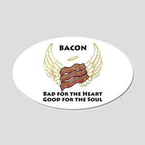 Soul Bacon 20x12 Oval Wall Decal