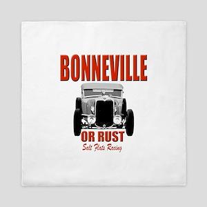 bonneville salt flats racing Queen Duvet
